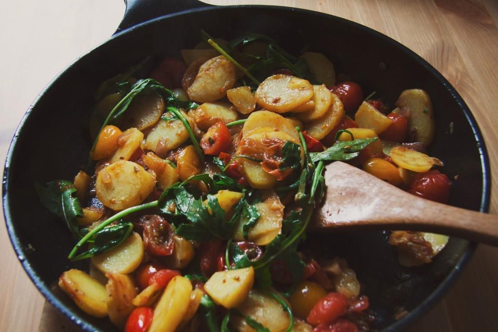 Vegan Mediterranean dish