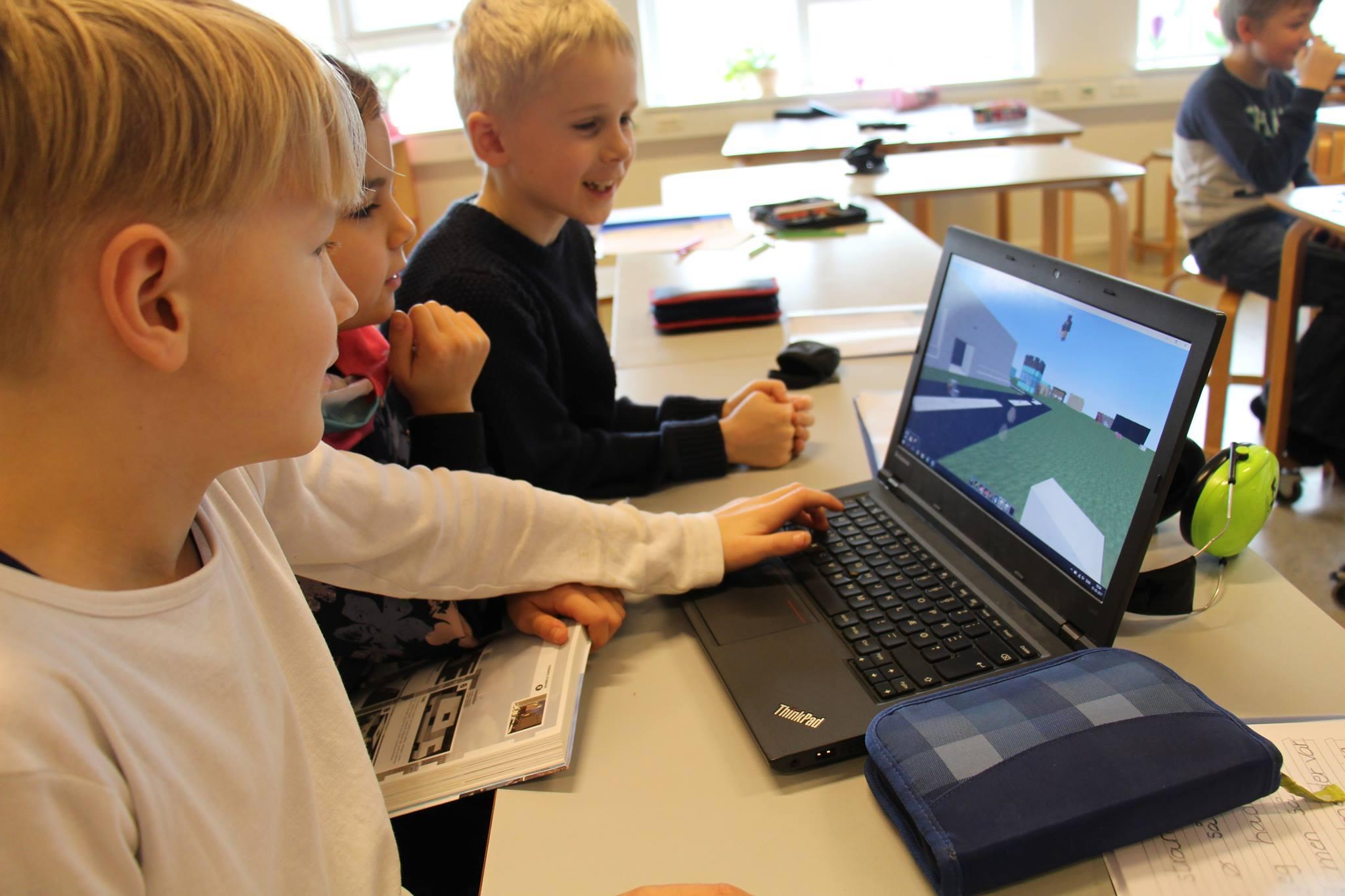 Læringsspil en del af skolernes hverdag